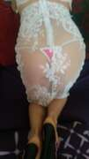 Photos de la lingerie de Leslovers16, Ensemble blanc